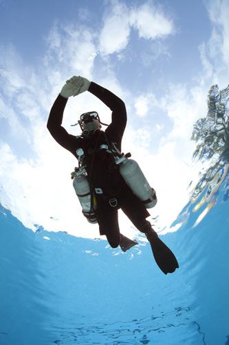 Diver-PADI-Tec-Sidemount